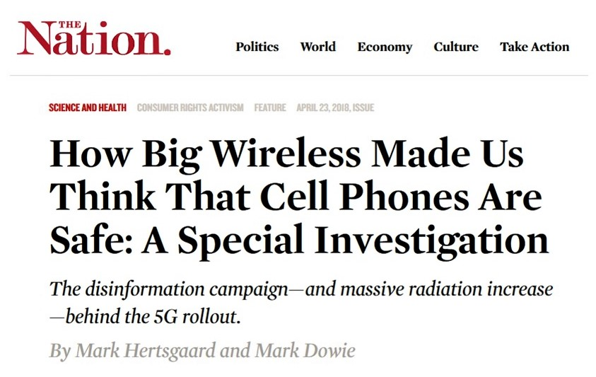 The Nation: How Big Wireless Made Us Think That Cell Phones Are Safe: A Special Investigation, Smombie Gate | 5G | EMF