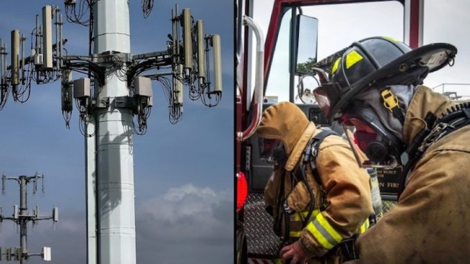 Firefighters Suffer Neurological Damage After Contact With 5G Cell Towers, Smombie Gate   5G   EMF