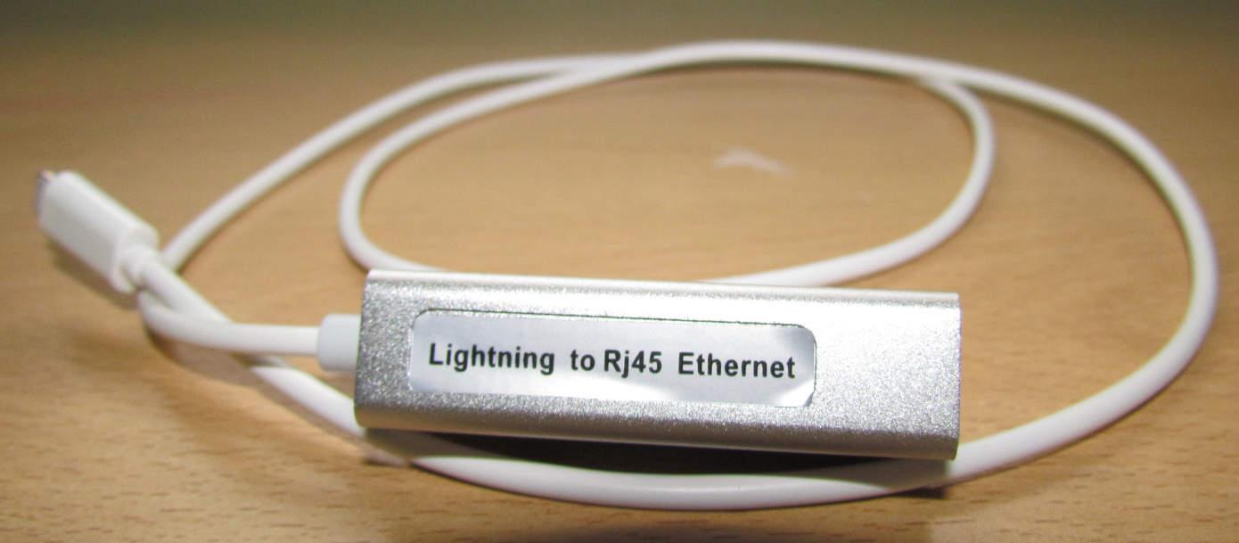 Lightning RJ45 Adaptor