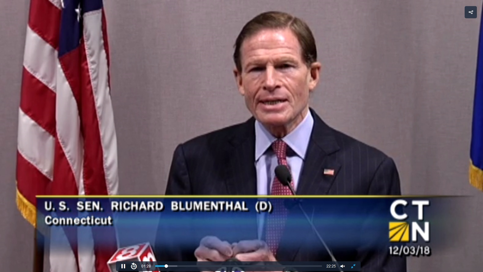 Blumenthal Press Conference Re. 5G – Video and Levitt Remarks, Smombie Gate | 5G | EMF