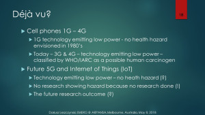 "USA Senate hearing 2019: 5G safety relies solely on ""low-power assumption"": Déjà vu all-over again, Smombie Gate 