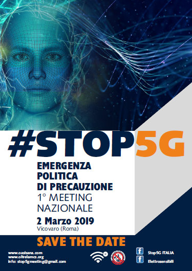 Italy: Phonegate Alert message to meeting organizers #STOP5G, Smombie Gate | 5G | EMF