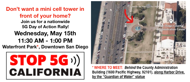 """""""5G Day of Action Rally"""" Press Release, Smombie Gate 