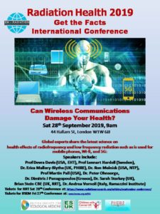 September Conference, Smombie Gate | 5G | EMF