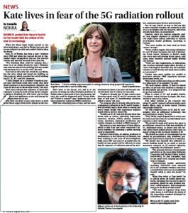 Australia's Canberra CityNews on 5G deployment and health worries, Smombie Gate | 5G | EMF